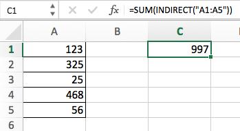 Функция INDIRECT (ДВССЫЛ) в Excel - 4