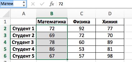 Функция INDIRECT (ДВССЫЛ) в Excel