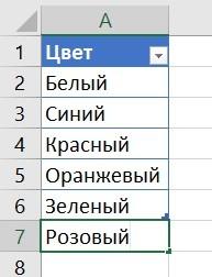 Автоматическая подстановка данных в Excel