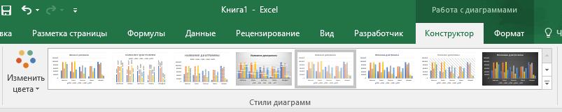 Как изменить стиль гистограммы в Excel
